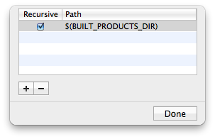 Header Search Paths