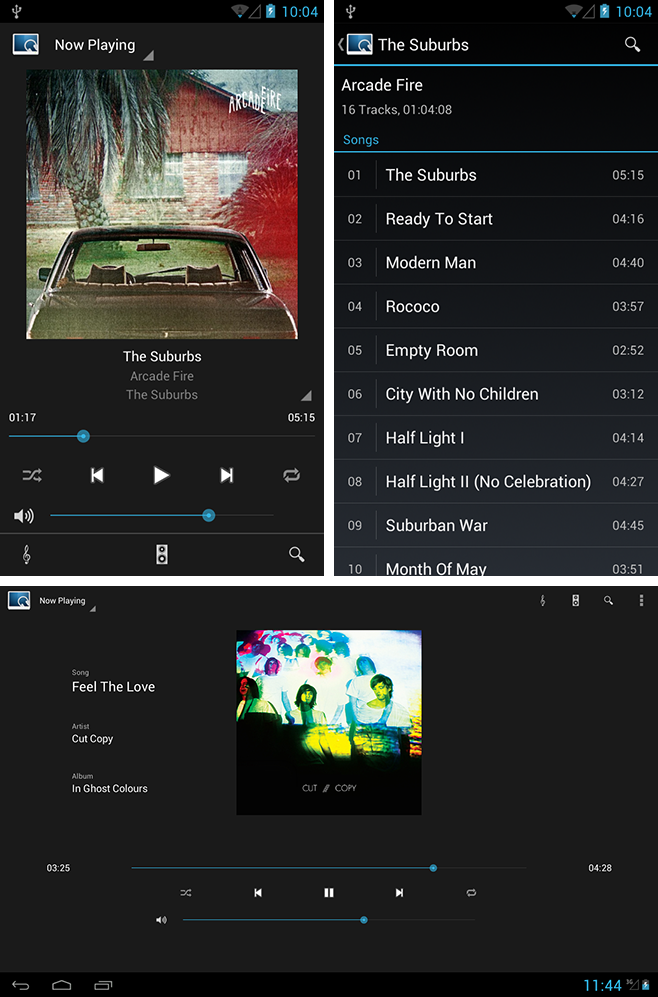 Now Playing/library Screenshot