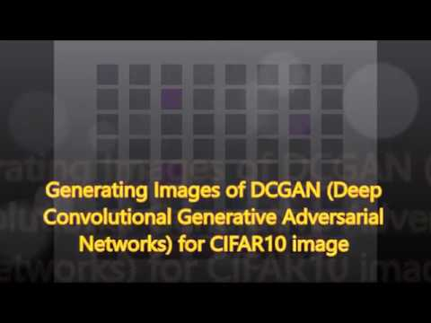 GitHub - 4thgen/DCGAN-CIFAR10: A implementation of DCGAN (Deep