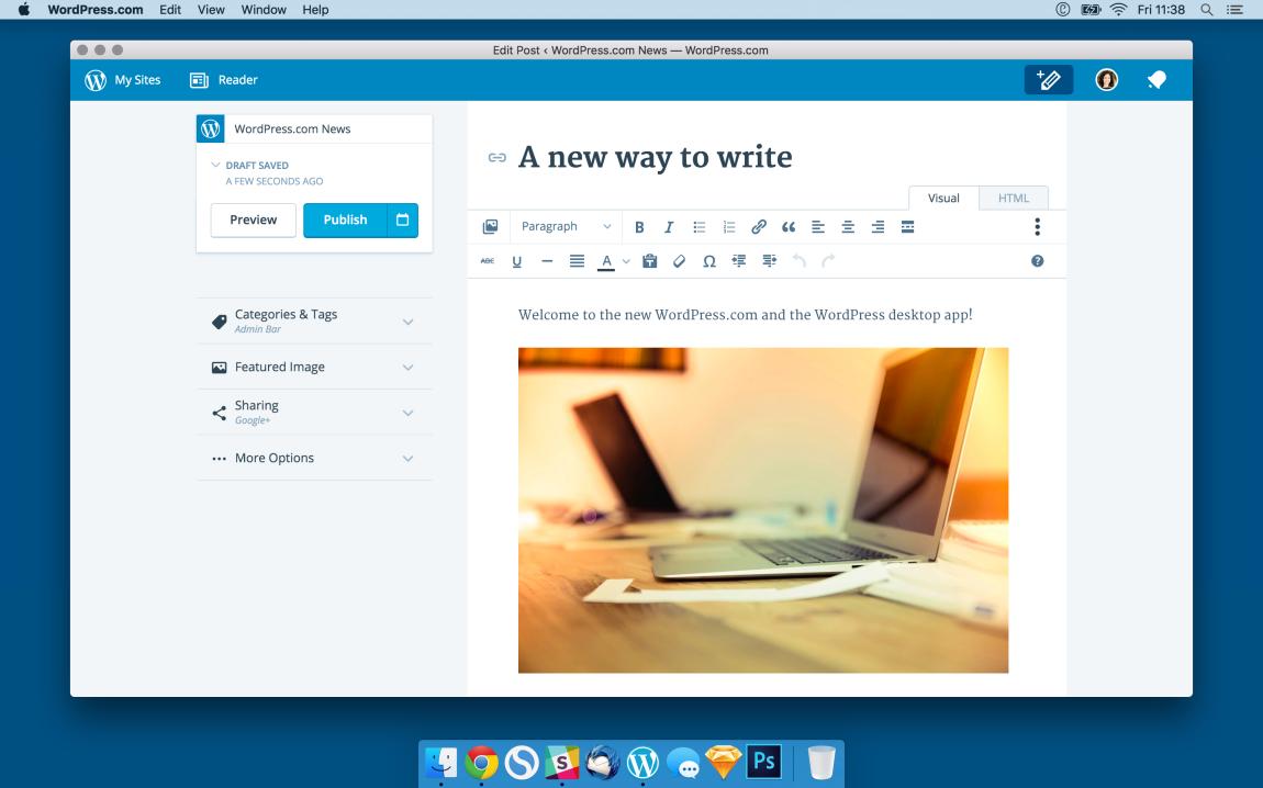 WordPress.com for Desktop