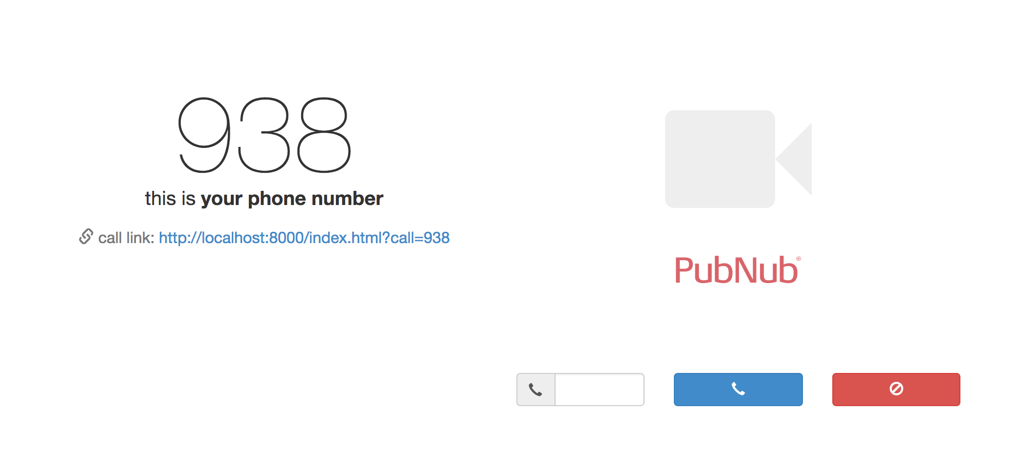 WebRTC Simple Calling API + Mobile