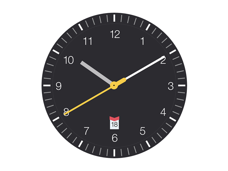 Clock Saver Screenshot