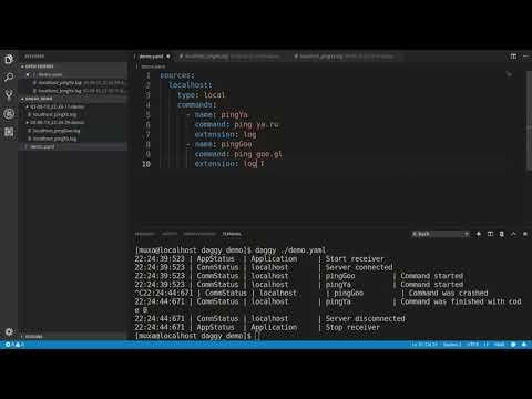 Data aggregation via command line