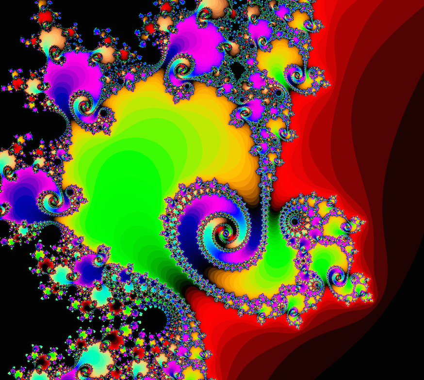 mandelbrot color zoom
