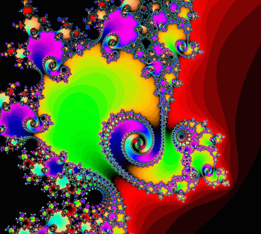 mandelbrot color zoom