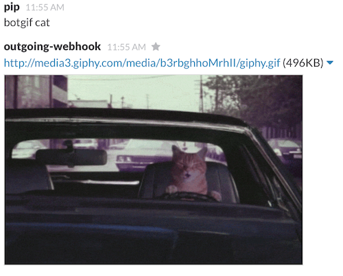 Outgoing WebHooks option