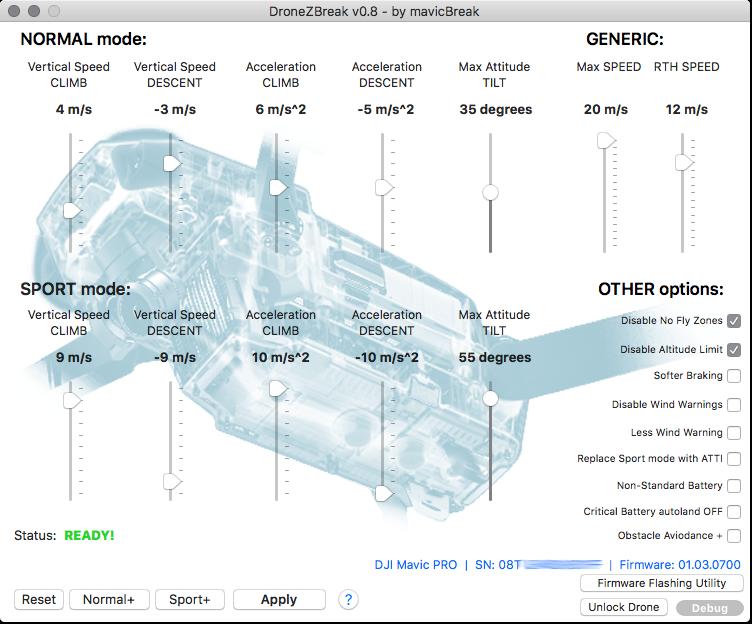 GitHub - mavicBreak/DroneZBreak: Change DJI drones flight