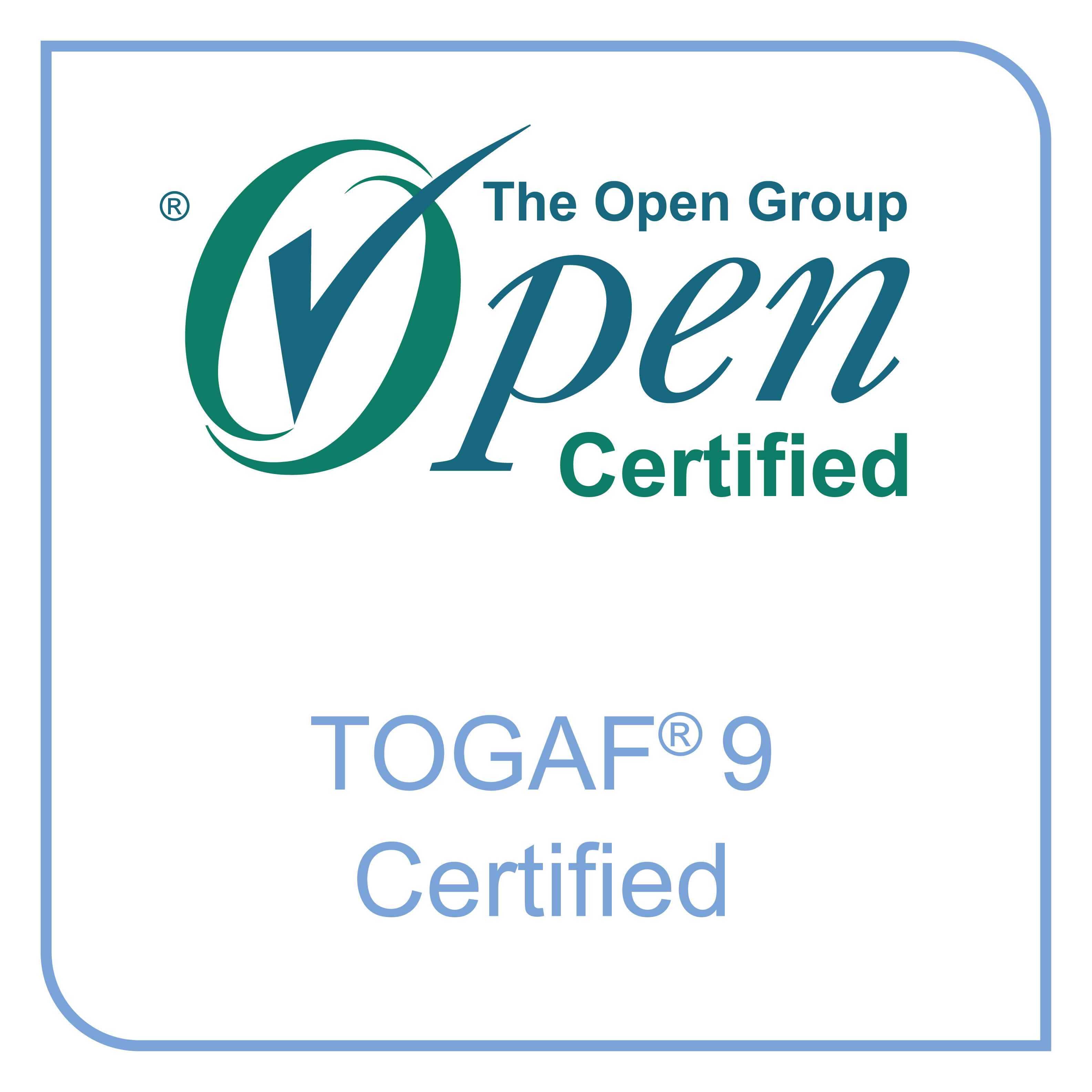 The Open Group Certified: TOGAF 9 Certified