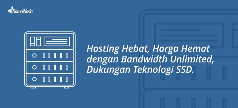 hosting hebat domainesia