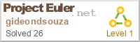 My Euler Badge