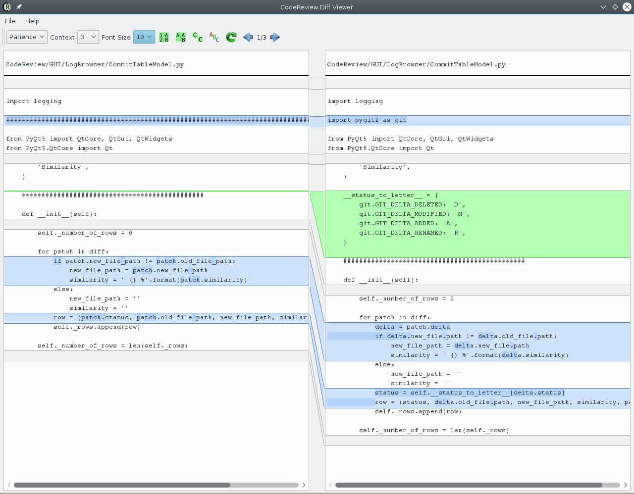 GitHub - FabriceSalvaire/CodeReview: CodeReview is a Git GUI