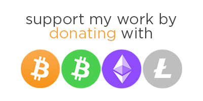 Donate with Cryptocurrencies