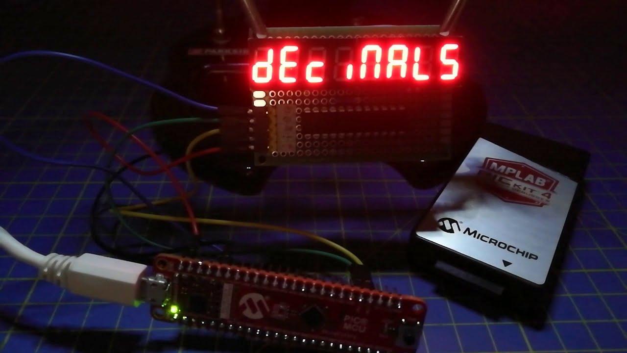 MAX7219sz PIC Lib Demo