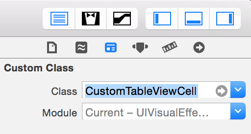 change a class in interface builder