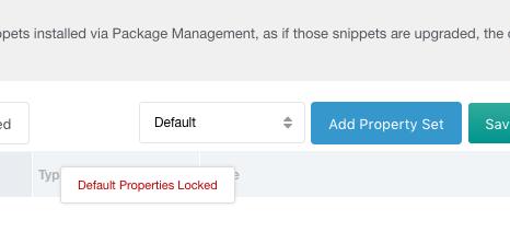 Add Property Set