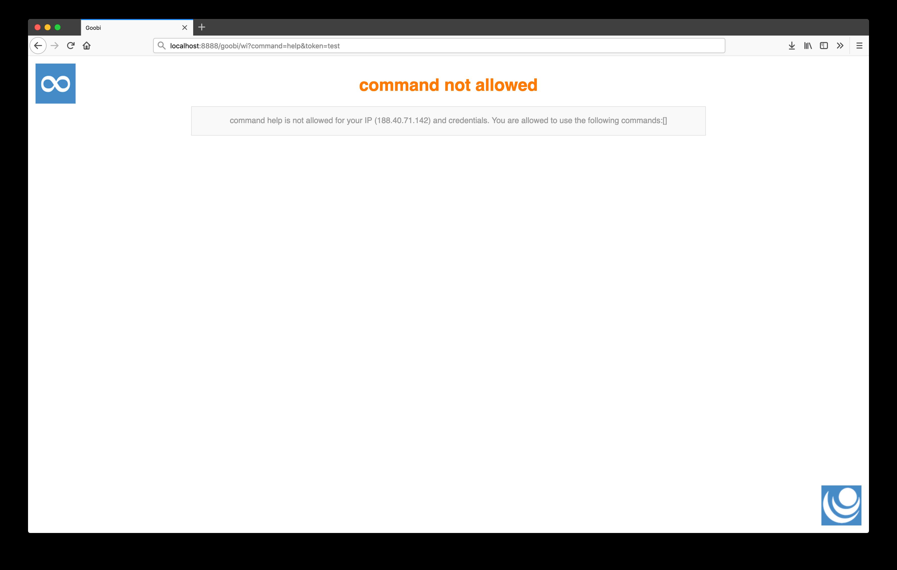 Web-API Plugin for executing a command via HTTP