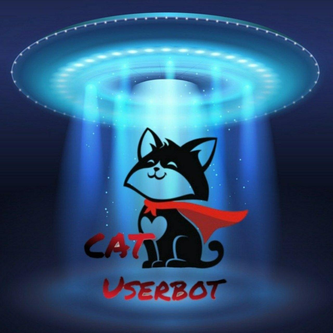 catuserbot logo