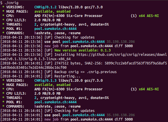 GitHub - cnrig/cnrig: Static CryptoNight CPU miner for Linux +