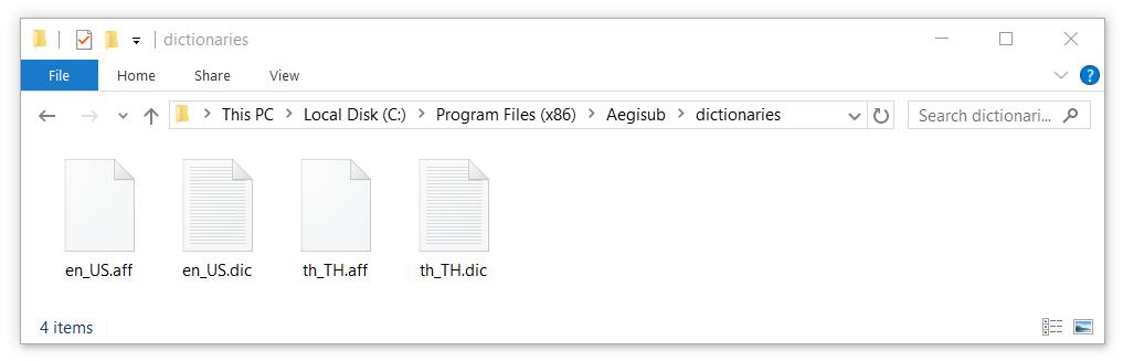 GitHub - tafasu/aegisub-thai-dict: Thai dictionary for Aegisub spell