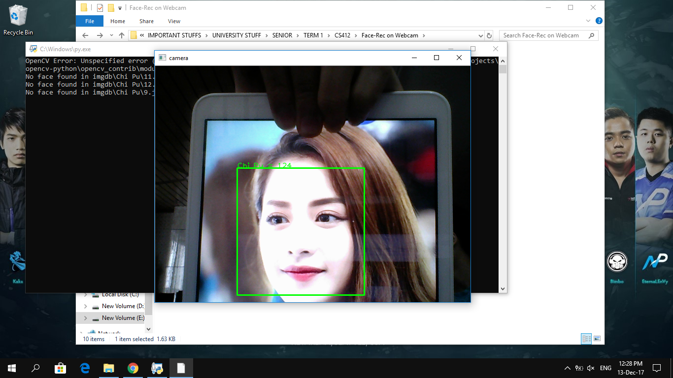 GitHub - Kocarus/Face-Recognition-OpenCV: Face recognition with