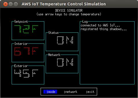 temperature-control.js, 'device' mode