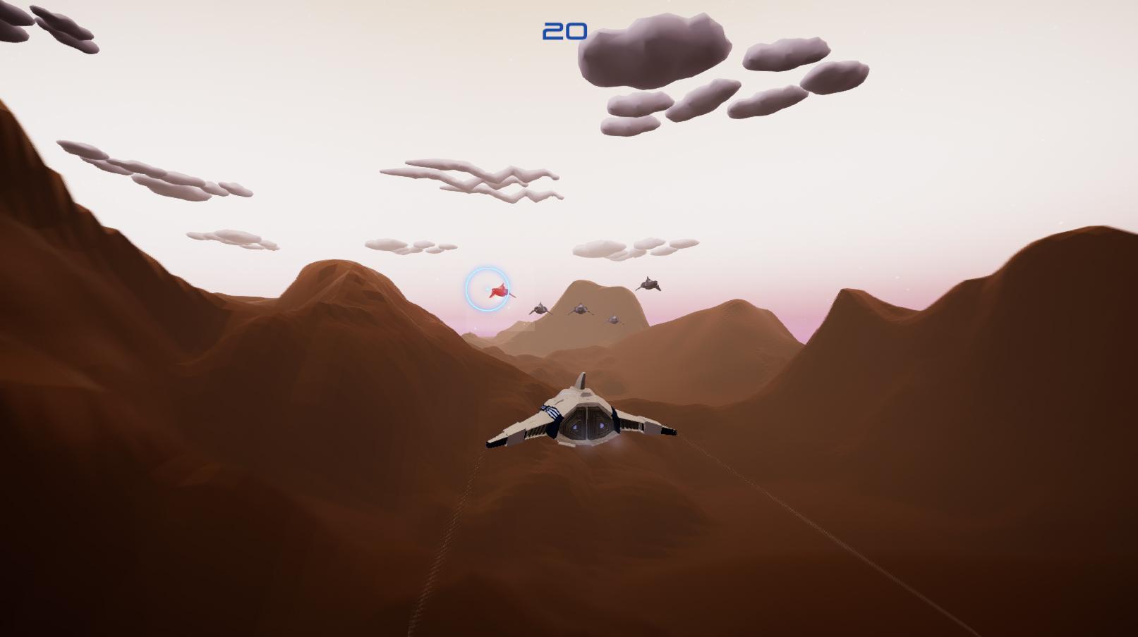 Rail Hunter gameplay screenshot