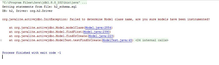 Implement findOrCreate(): Create new model and saveIt or