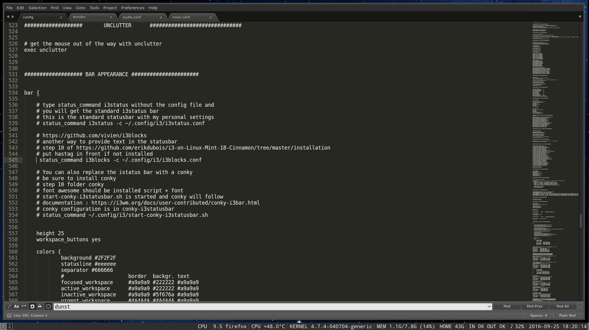 GitHub - erikdubois/LinuxMint18i3: How to install i3 on