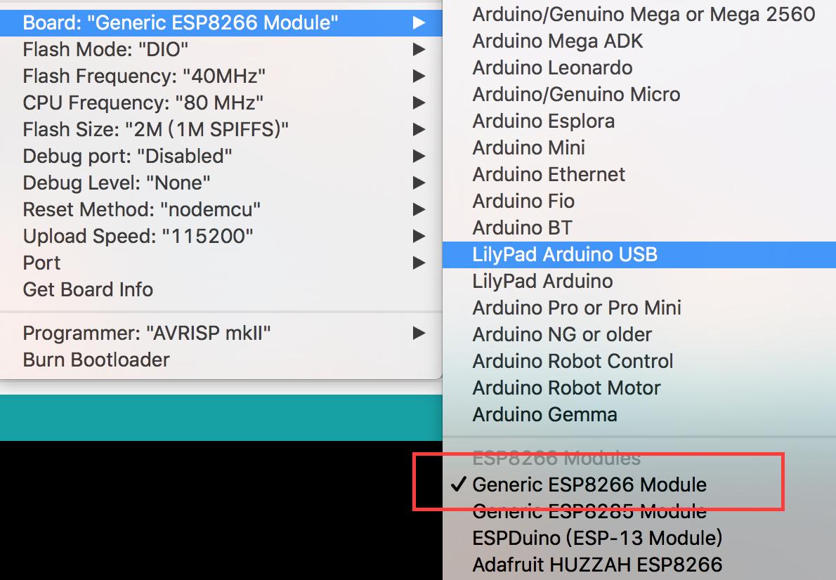 Esp8266 Bootloader Arduino