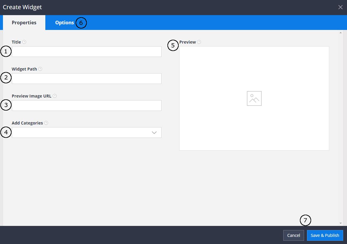 Edit Server Widget