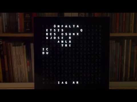 Catalan Wordclock - Conway's Game of Life on YouTube