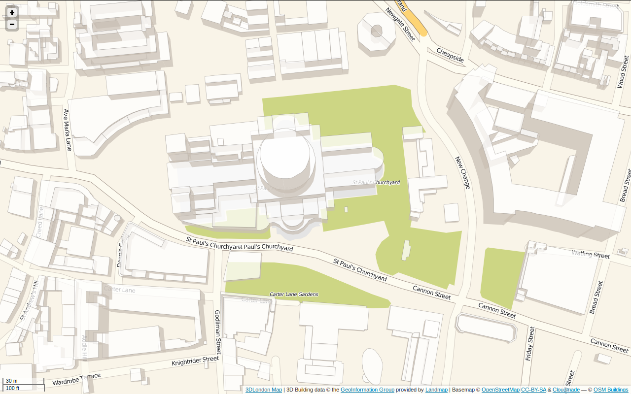 Example of OSM Buildings