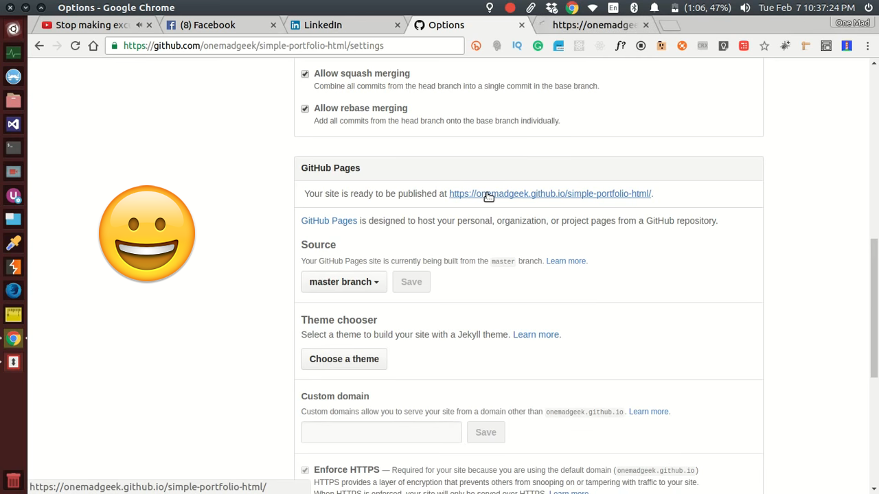 Host Simple Html Portfolio Project On Github Pages