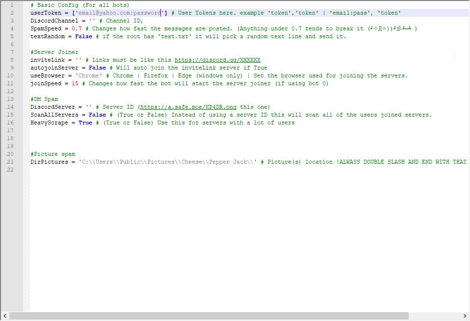 Adding accounts · Merubokkusu/discord-spam-bots Wiki · GitHub