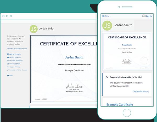 Example Digital Certificate