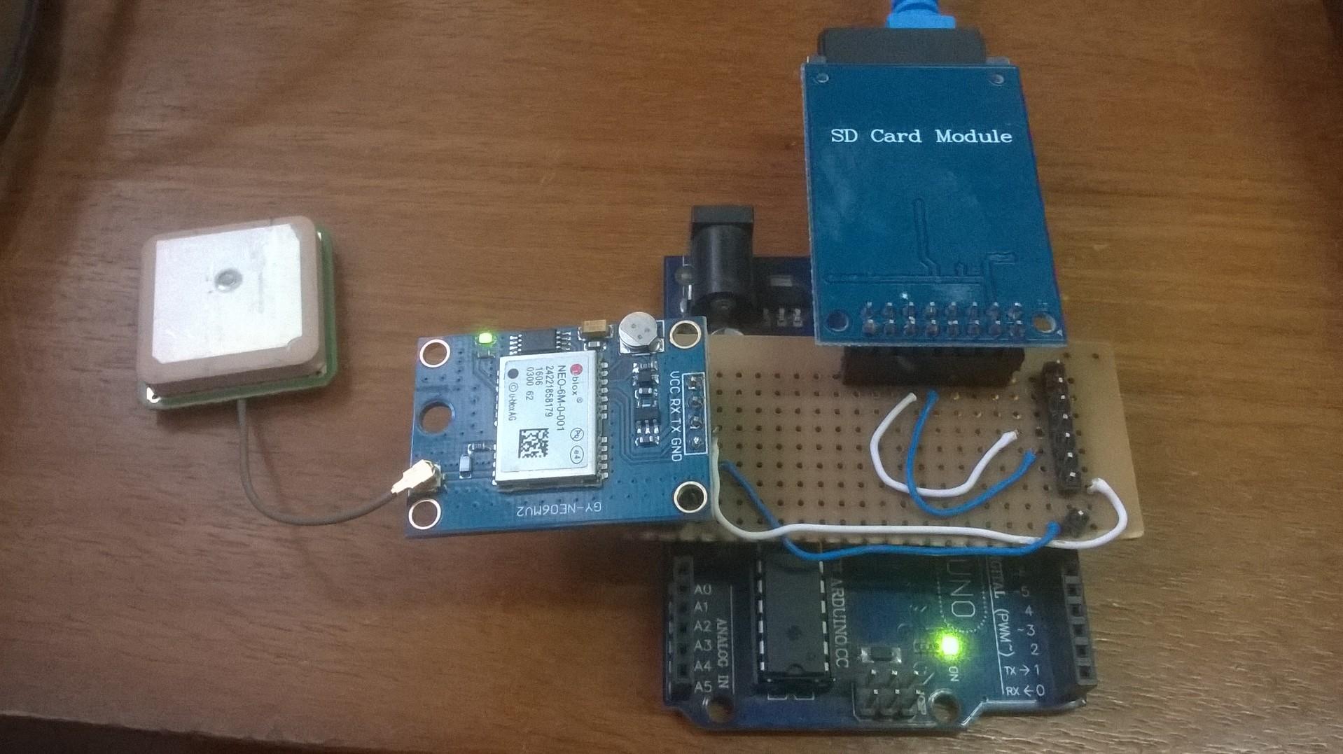 GitHub - Hollweg/NEO6M-GPS: NEO6M GPS datalog develoed in