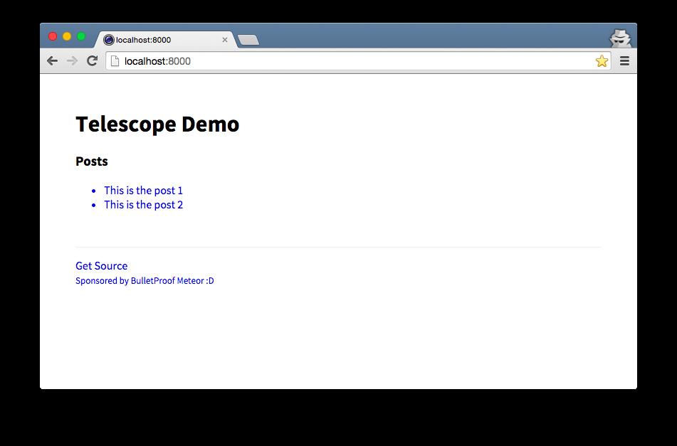 Server Side Render Demo