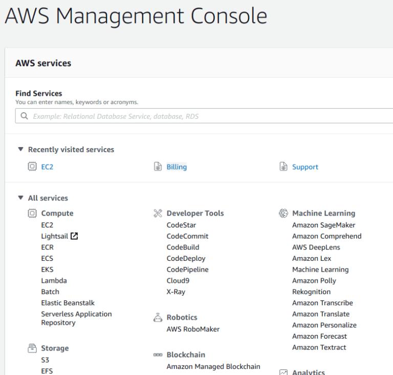 Start Ant Media Server on AWS (Single Instance) · ant-media