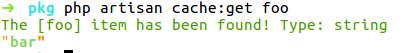 Retrieve item from cache: success