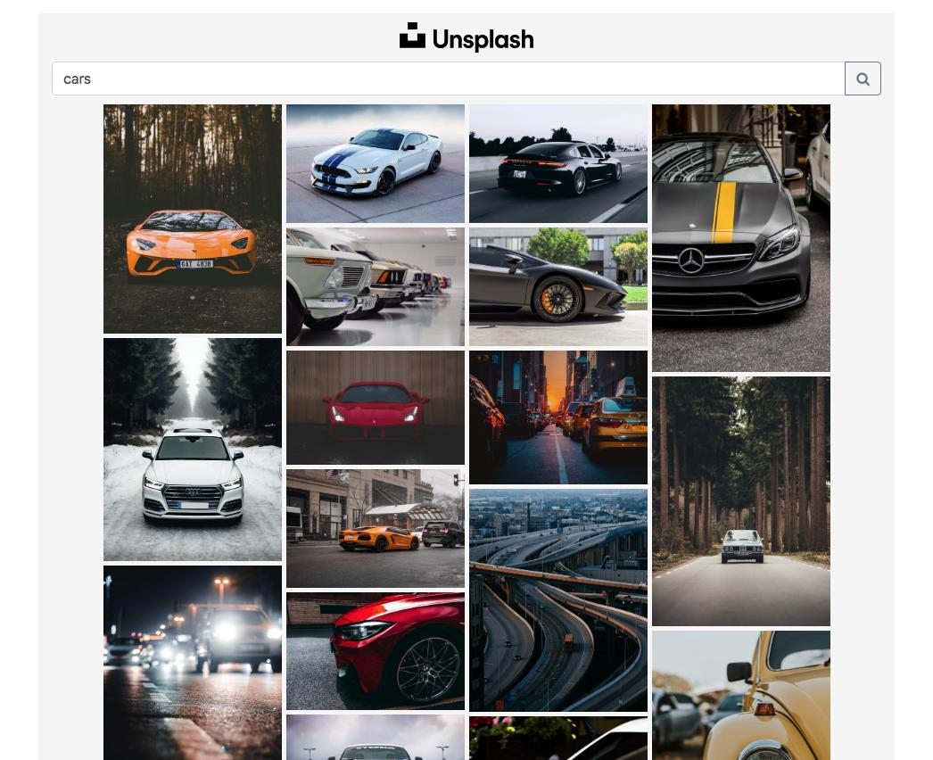 unsplash-search-photos-React-boilerplate
