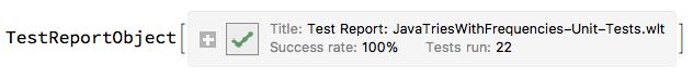 """TestReport"""
