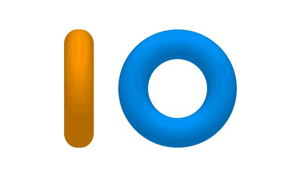 io.js logo tori concept