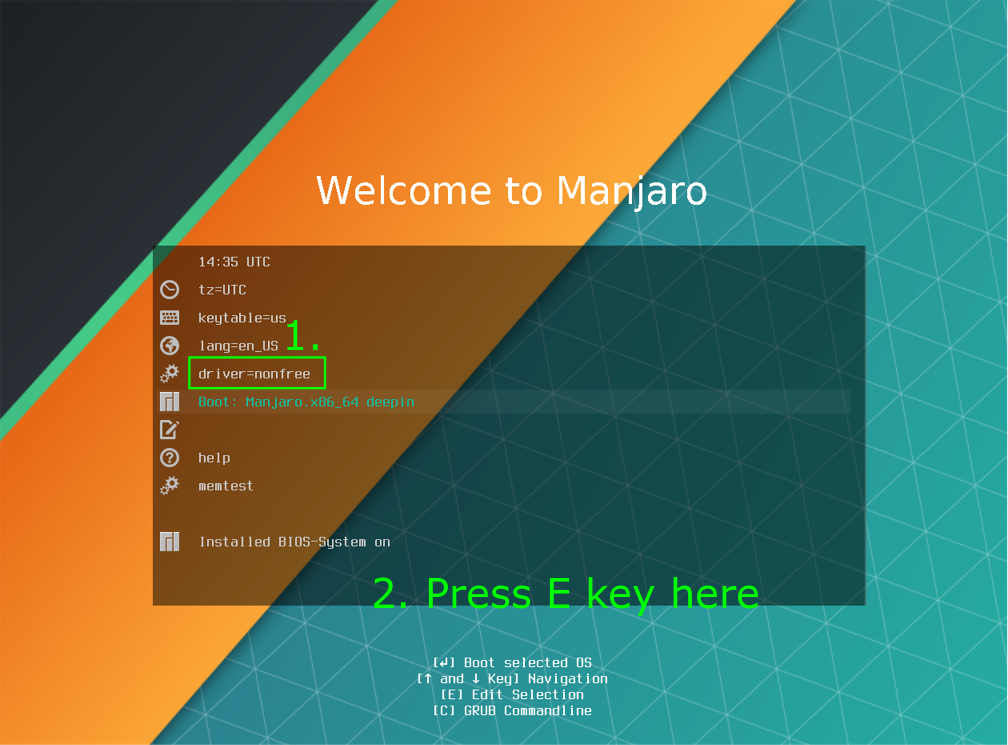 Installation of Manjaro 17 and nvidia/bumblebee drivers on