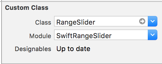 SwiftRangeSlider on CocoaPods org