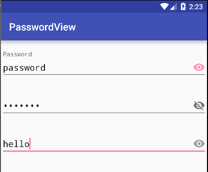 The Android Arsenal - Password Inputs - A categorized directory of