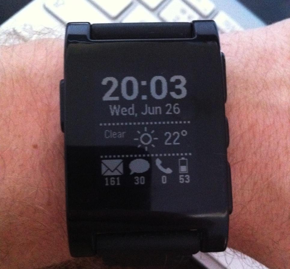 SmartStatus watchapp
