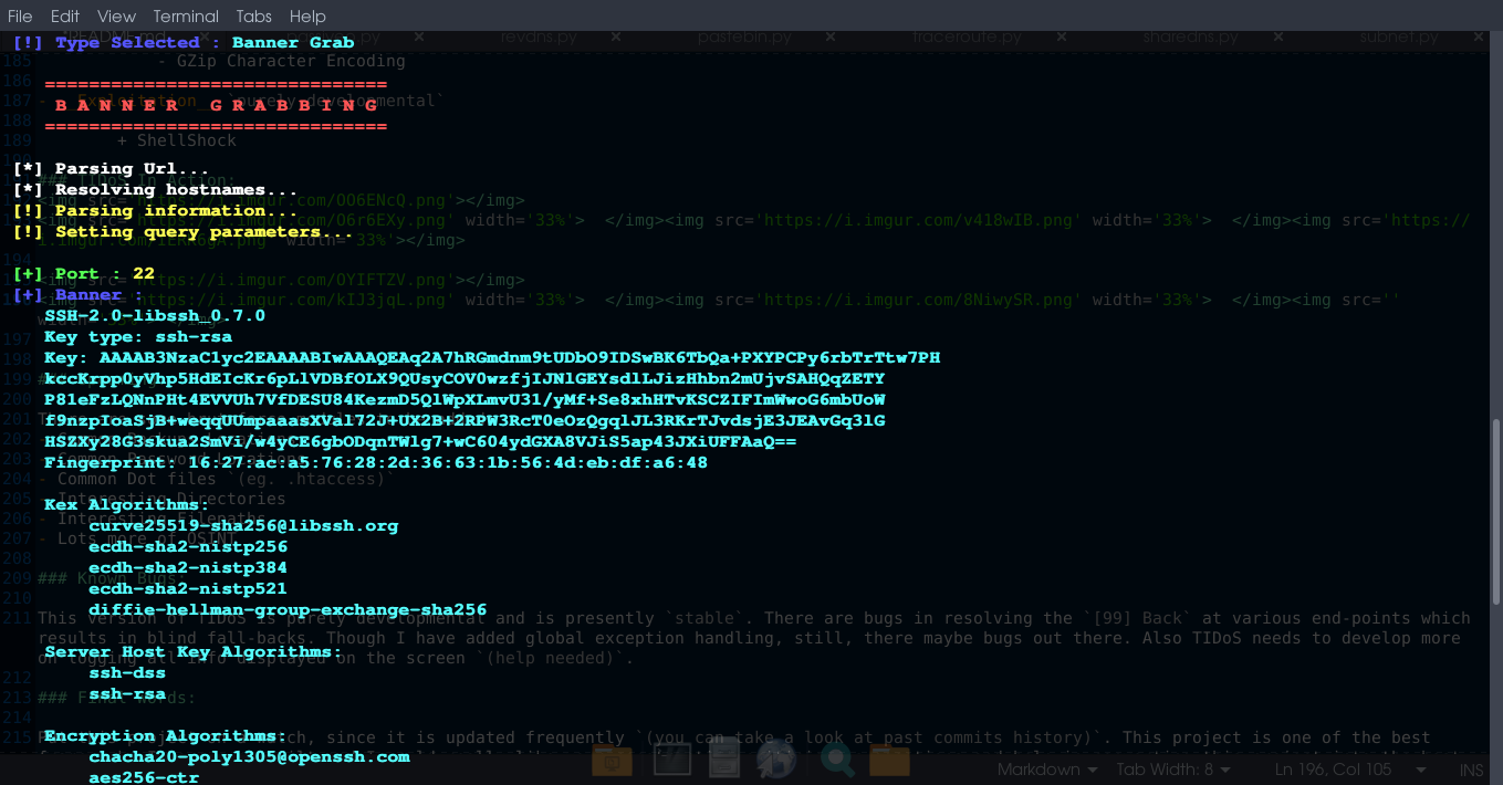 TIDoS - The Offensive Web Application Penetration Testing Framework