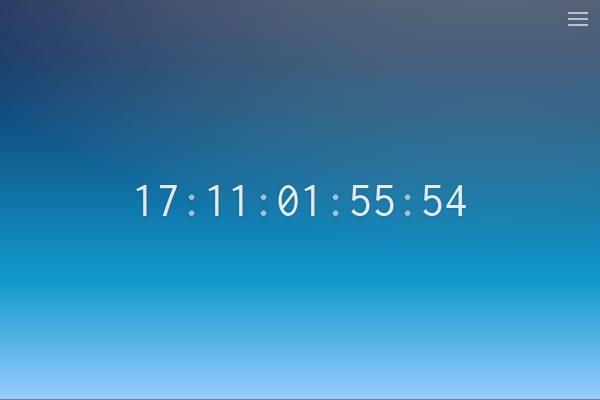 Geodate Clock