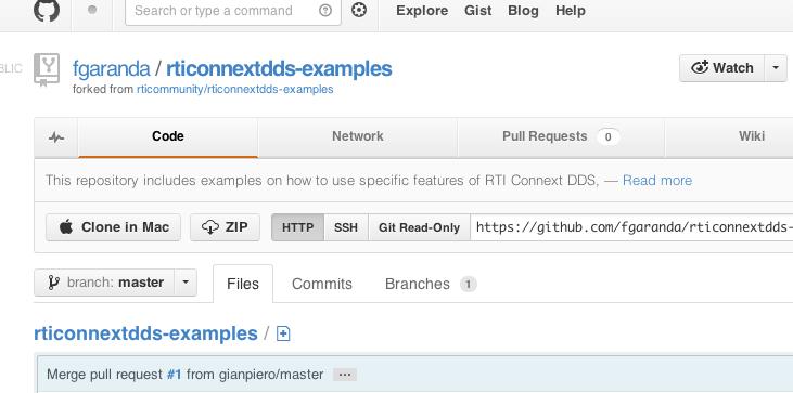 Clone GitHub repository