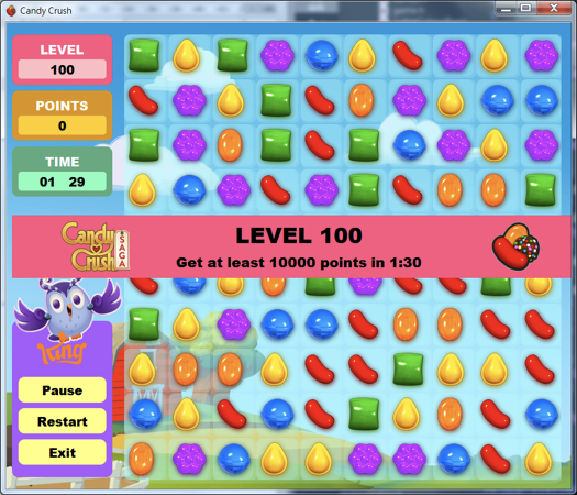 GitHub - yungshenglu/CandyCrush: Implement the classic game